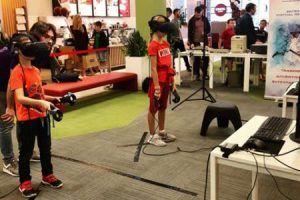 fiesta realidad virtual