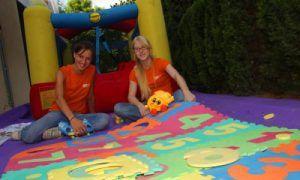 servicio de guarderia en fiestas infantiles