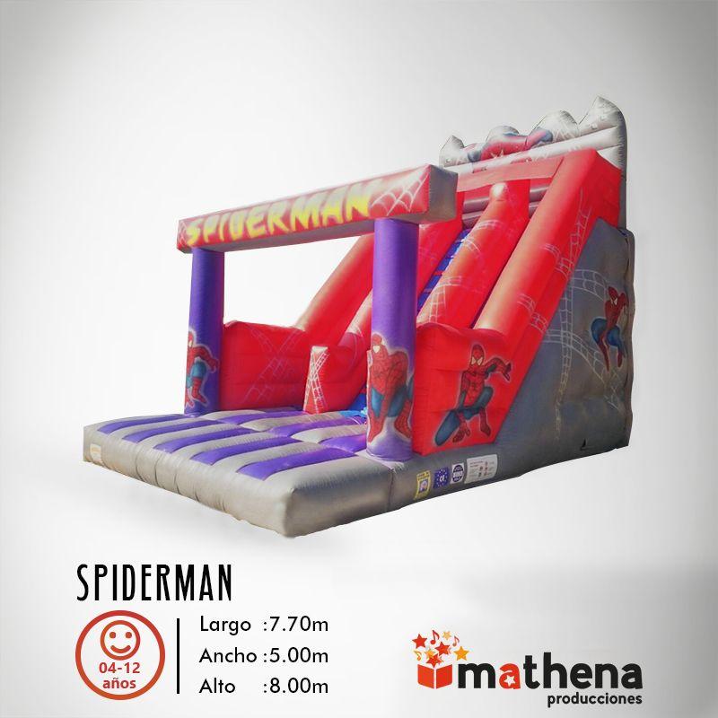 Tobogán Spiderman