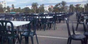 mesas y sillas para eventos en valencia